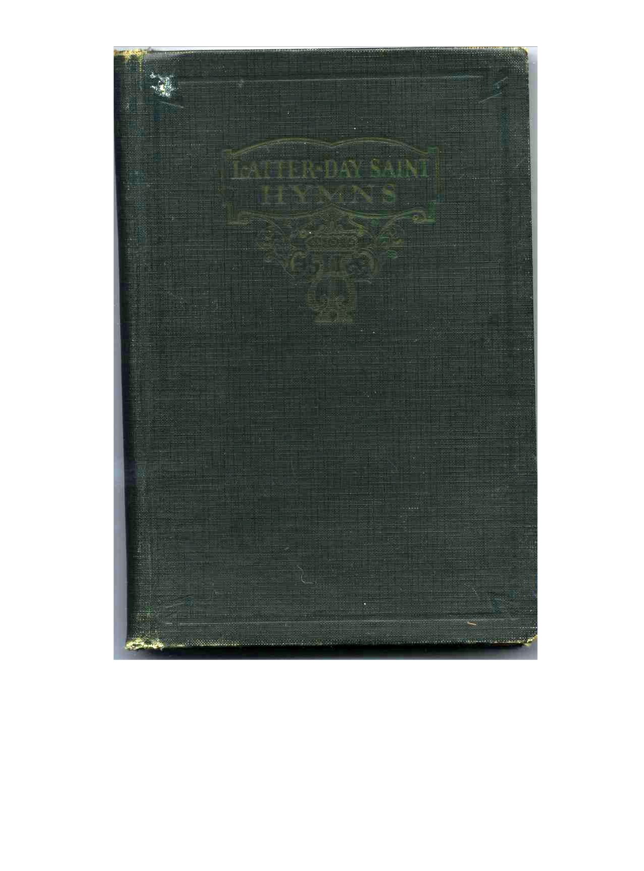 Blue Hymns LDS Mormon Song Book Collectors Item Lost Hymn 70 Out of Print 1979