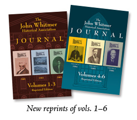 Reprints of Vols. 1-6 of the JWHA Journal
