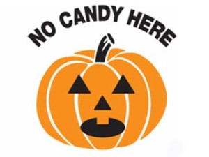 No Candy Here.