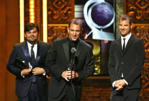 Robert Lopez, Trey Parker, and Matt Stone
