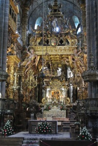 Peter LLC's photo of the Cathedral altar and surrounding decoration and iconography.