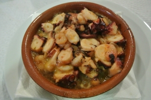 Octopus in butter -- the local delicacy