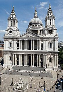 St. Paul's Cathedral, London, England (source: http://www.stpauls.co.uk/Cathedral-History)
