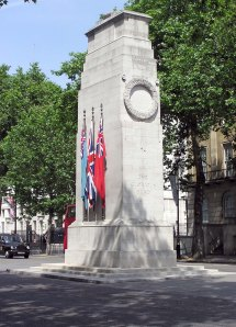 The Cenotaph, London, England (source: http://en.wikipedia.org/wiki/Cenotaph)
