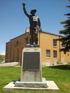 WWI Memorial in Mt. Pleasant, Sanpete County, Utah