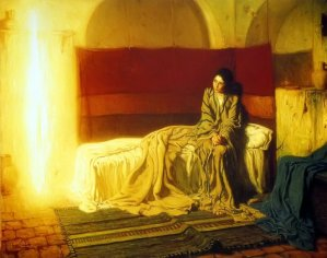 The Annunciation by Henry Ossawa Tanner, 1898