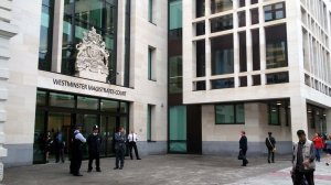 Westminster Magistrates Court (source: http://tinyurl.com/oox8x4w)