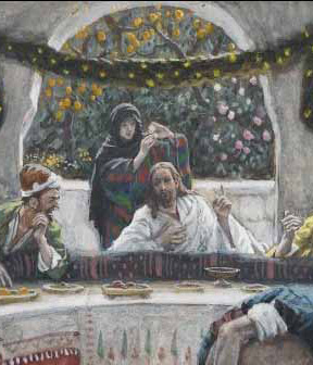 Tissot, The Meal in the House of the Pharisee