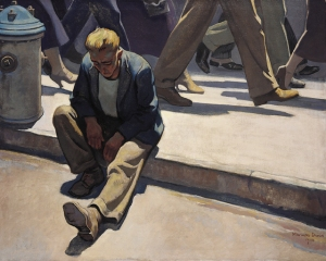 Maynard Dixon, The Forgotten Man (1934)