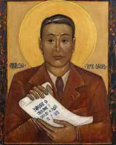 Chiune Sugihara by Pavlo Sergeyevitch (source: http://tinyurl.com/qd72bfx)