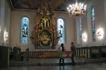 A stop at Oslo Cathedral on the way to the train station.