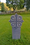 We began our pilgrimage at this marker outside Rennebu Church.