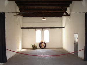 The execution chamber where Helmuth Hübener was beheaded on October 27, 1942 (source: http://tinyurl.com/mg6wszx).