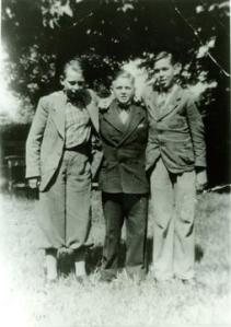 From left to right: Rudi Wobbe, Helmuth Hübener, Karl-Heinz Schnibbe (source: http://tinyurl.com/q4moh4p).