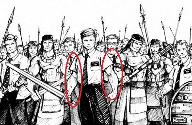 #1. Zone Leader Stripling Warrior Biceps