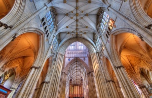 York Minster, the largest gothic cathedral in northern Europe (source: http://tinyurl.com/o3je4gm)