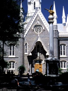 Latter-day Saint Assembly Hall, Salt Lake City, Utah (source: http://tinyurl.com/kaewqgg)