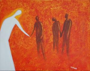 """Fiery Furnace"" (2011) by Chris Cook (http://tinyurl.com/lvgwfvk)"