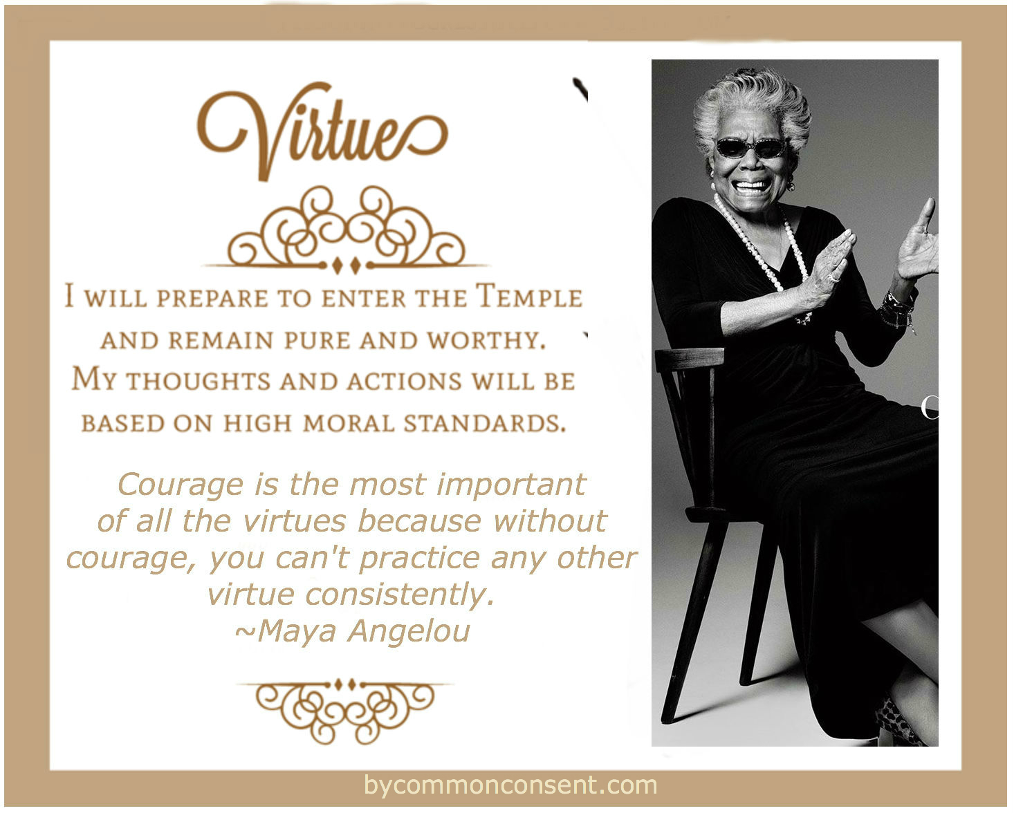 mayaangelou_virtue1 young women values not princesses & not for the faint of heart