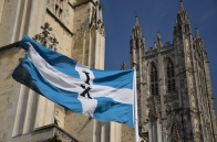 The cathedral flag