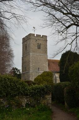 Hollingbourne church