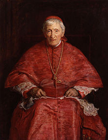 Newman as Cardinal. It all depends on whether a Pope trusts you. Image: Wikipedia.