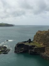 Red Bull Cliff Diving Championship site at Abereiddy