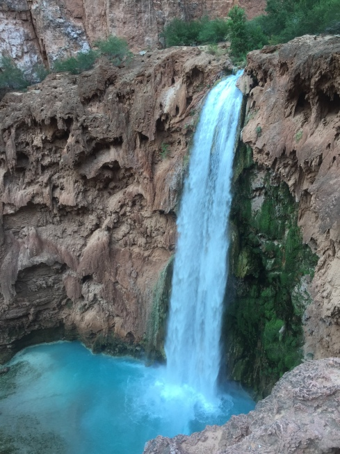 Mooney Falls, 196' high