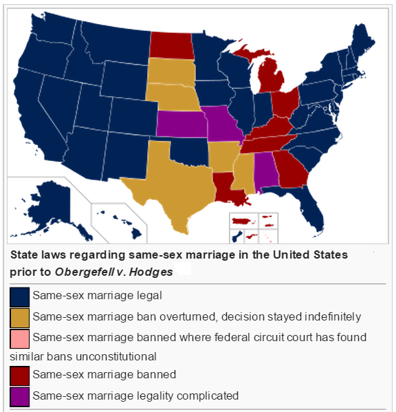 same sex marriage legal in michigan in Birmingham