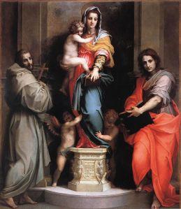 "Andrea del Sarto, Madonna of the Harpies"" (1517)"