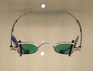 Hyrum Smith's sunglasses. Groovy.