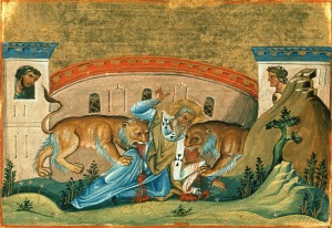 Ignatius the Martyr. (Image: Wikipedia)