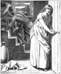 Rahab and the spies. Pickersgill. (Image: Wikipedia)