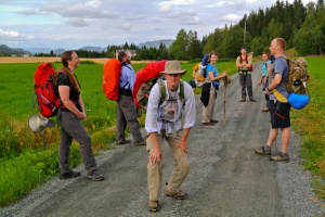 Members of the Mormon Society of St. James, Norwegian countryside, 2014