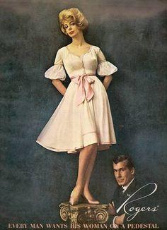 Women on pedestals