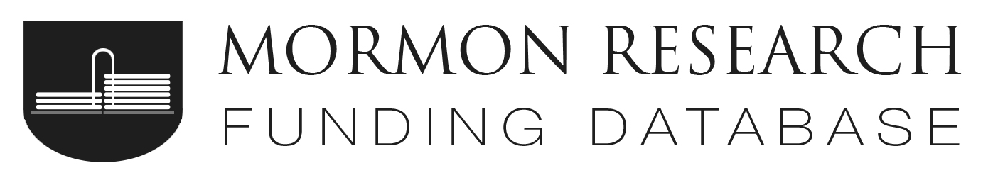 Guest Post: Mormon Research Funding Database – By Common
