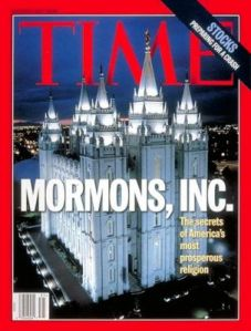 "I blame Time for the whole ""LDS Inc."" movement."