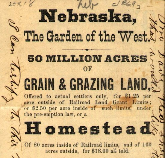 the homestead act Homestead act an act passed by the us congress in 1862 making available to settlers 160-acre tracts of public land for cultivation.