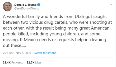 trump tweet mexico